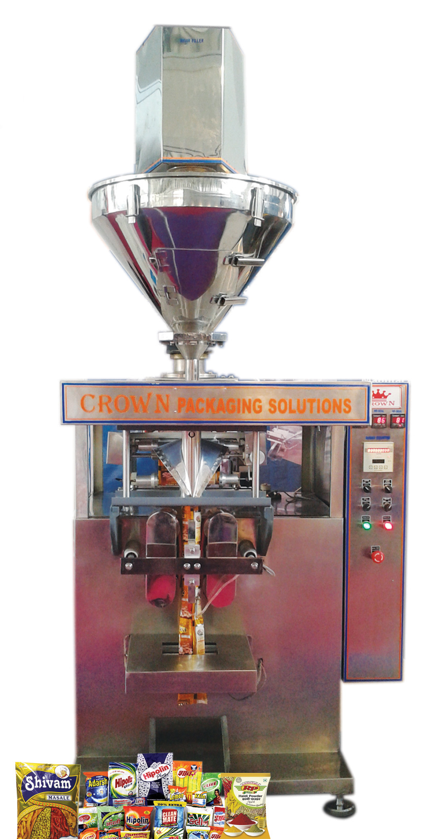 POWDER PACK (M/C MODEL : CR-PP-500 HI-SPEED SERVO AUGUR FILLER)