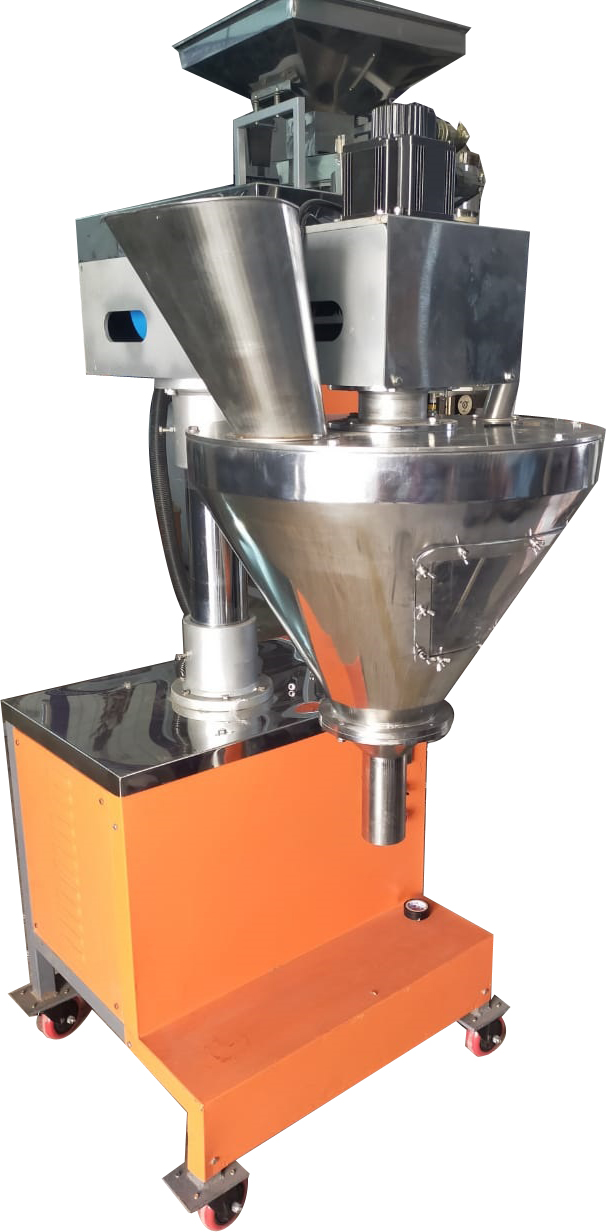 SEMI AUTOMATIC AUGER FILLING M/C (MODEL : CR-SA-AF-5000)