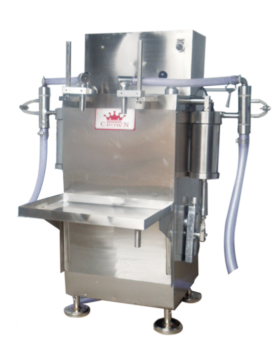 SEMI AUTOMATIC FILLING M/C (MODEL : CR-SA-BF-1000)